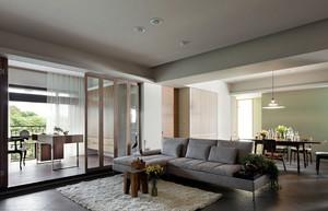 现代简约风格别墅客厅装饰