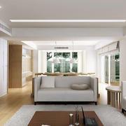 后现代浅色沙发装饰