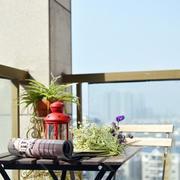 别墅简约风格高层阳台装饰