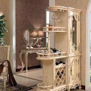 欧式奢华整体式酒柜装饰