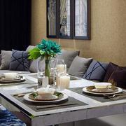 别墅简约风格沙发背景墙装饰