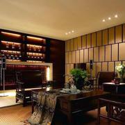 后现代风格整体酒柜装饰