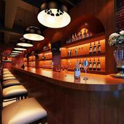 东南亚风格原木系酒吧装饰