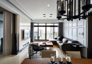 后现代风格新房客厅装饰