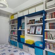 家庭儿童房室内简约风格书柜装饰