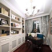 两室一厅欧式风格书房装饰