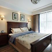 三室一厅简约风格卧室飘窗装饰