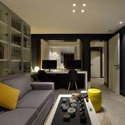公寓简约客厅电视背景墙