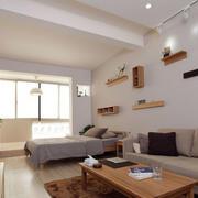 公寓客厅置物架装饰