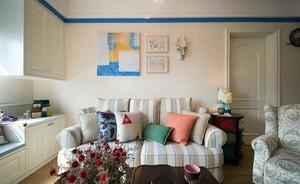 美观舒适 简单大方客厅沙发装修设计效果图
