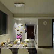 公寓简约餐厅吊顶设计
