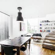 全新简约北欧风格楼梯装饰
