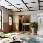 简约风格浴室吊顶设计
