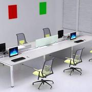 小型会议室办公桌装饰