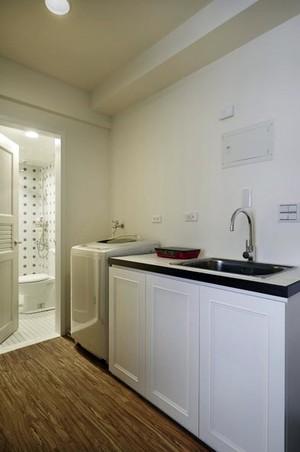 空间变大了:轻乡村开放式50平米一居室小户型装修效果图
