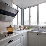 美式风格简约阁楼厨房装饰