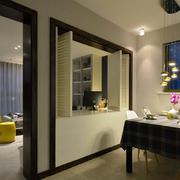 公寓简约餐厅装饰