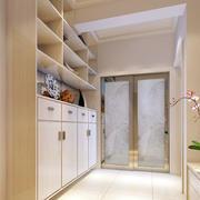 复式楼简约风格鞋柜设计