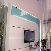 复式楼时尚电视背景墙