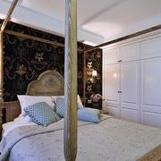 两室一厅简约欧式卧室衣柜装饰