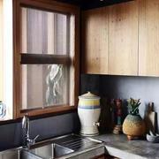 美式简约风格厨房样板房