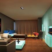 酒店卧室简约吊顶装饰