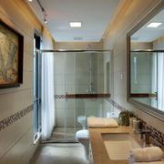 120平米房屋简欧风格卫生间