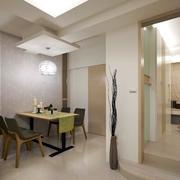 单身公寓简约风格餐厅装饰