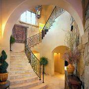 别墅大理石楼梯装饰