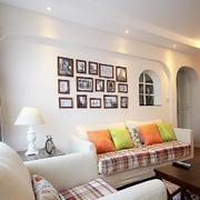 两室一厅客厅射灯装饰