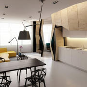 简约风格公寓客厅装饰