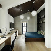 复式阁楼简约卧室装饰