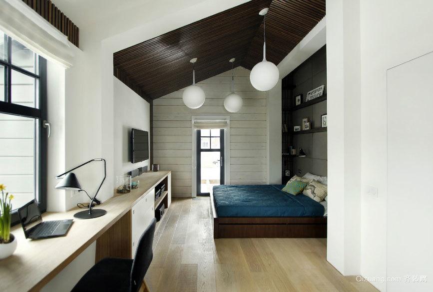 三效合一:有质感的复式楼阁楼装修效果图