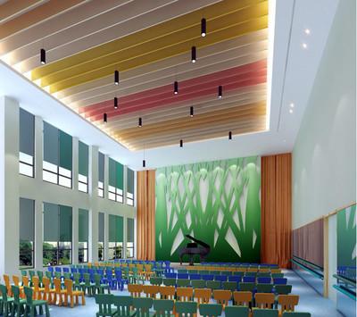 都市幼儿园教室布置装修设计效果图鉴赏