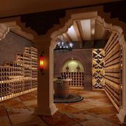 欧式酒窖拱形门装饰