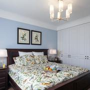 美式风格阁楼卧室装修