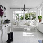 北欧风格清新小阳台装饰