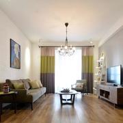 两室一厅简约风格客厅效果图