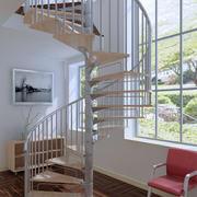 现代简约风格螺旋式楼梯