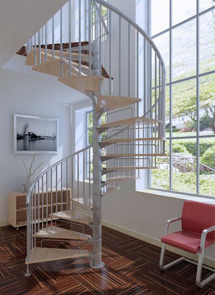 专业设计打造:别墅型豪华旋转楼梯装修效果图实例鉴赏