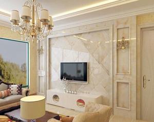 大户型欧式罗马柱电视背景墙装修效果图鉴赏