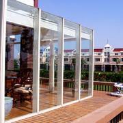 别墅简约风格玻璃门装饰