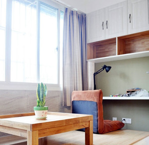 不一样的席地而坐:现代简约风格榻榻米装修效果图