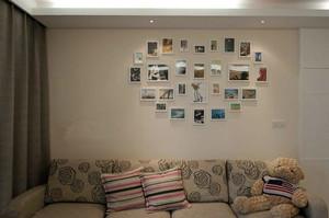 别具特色的客厅照片墙装修效果图一览