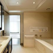 简欧风格浴室吊顶设计