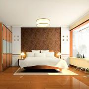 原木色老房卧室装饰
