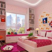 简约卧室床头照片墙装饰