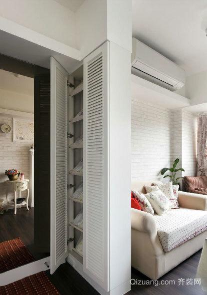 夫妻二人呕心沥血打造温馨40平米小户型居室装修效果图
