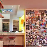 公共餐厅照片墙装修