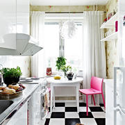北欧风格清新厨房装饰